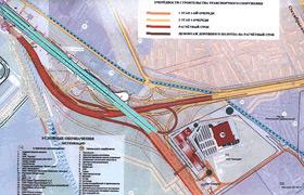 Развязка новорязанского шоссе схема